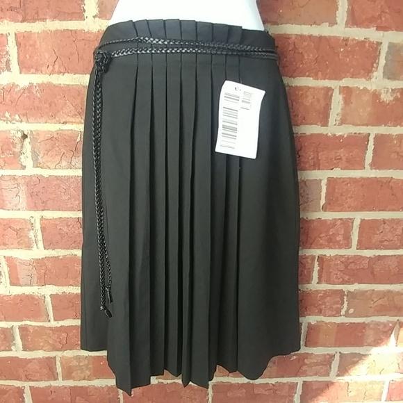 8454d789e Sisley Skirts   Black Pleated Skirt New Mad Men Vintage   Poshmark